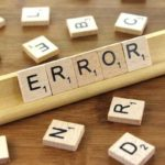 El error y su vínculo con el corrector de textos y el corrector de estilo